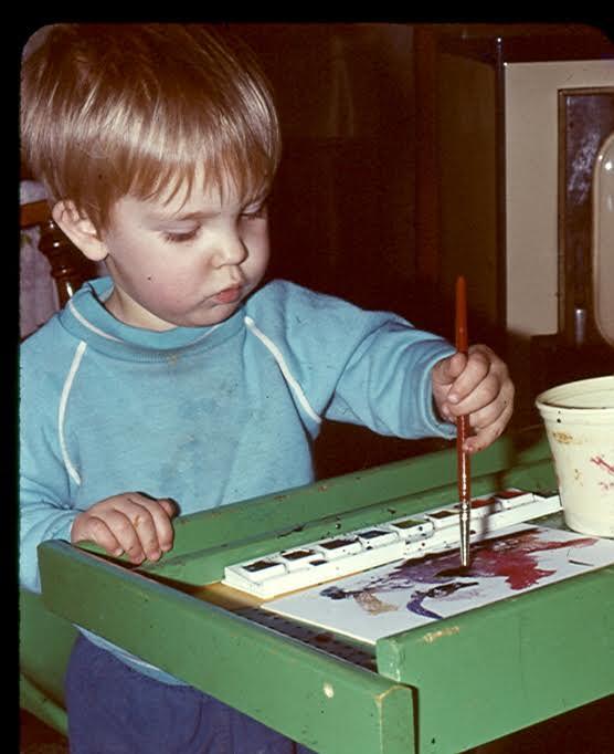 History - Jason painting