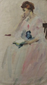Sayre Cooney, oil painting study, Penn. Academy of Fine Art b