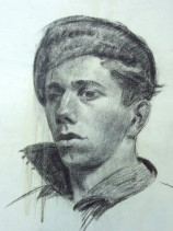 Sayre Cooney's Young Man with Cap