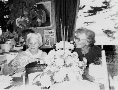 FYC and Sayre Dodgson at birthday party, Montana Beach